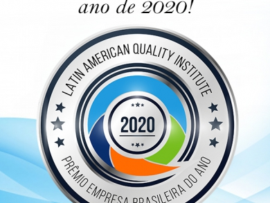 Selo de Empresa Brasileira do ano de 2020