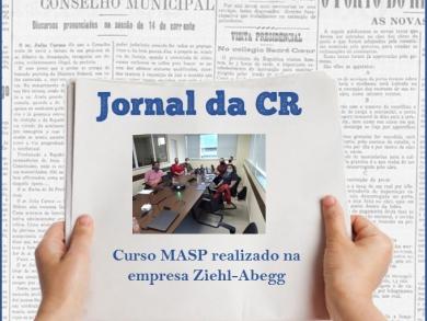 Curso MASP realizado na empresa Ziehl-Abegg